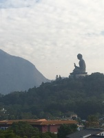 View of the Tian Tan Buddha