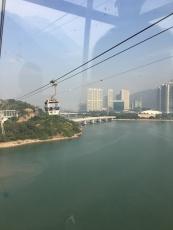 Cable Car over Lantau Island